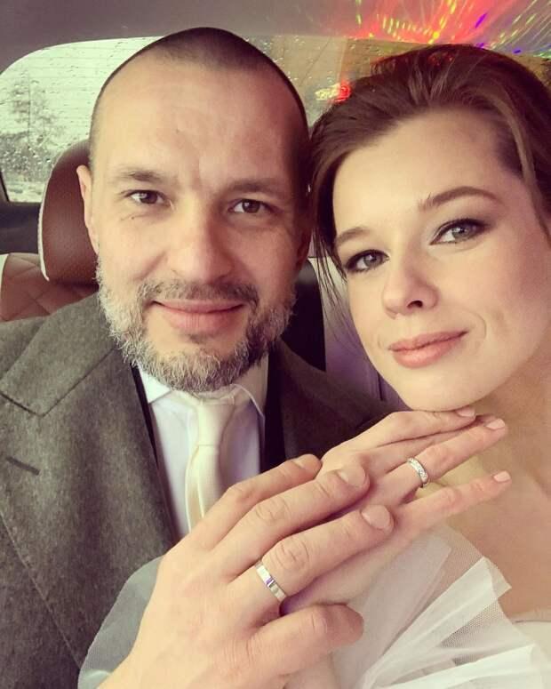 Катерина Шпица вышла замуж второй раз