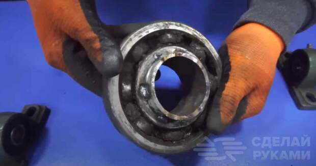 Мини молот из электродрели (для холодной и горячей ковки)