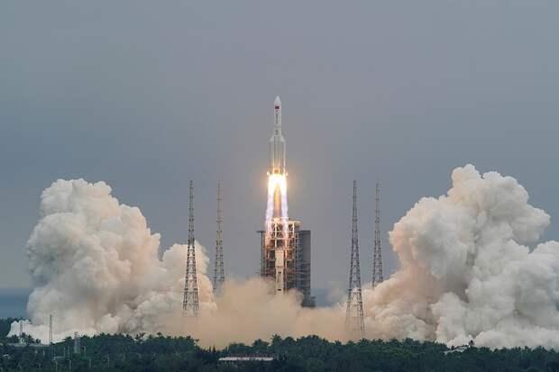 Вторая ступень китайской ракеты может войти в атмосферу Земли над Средиземным морем