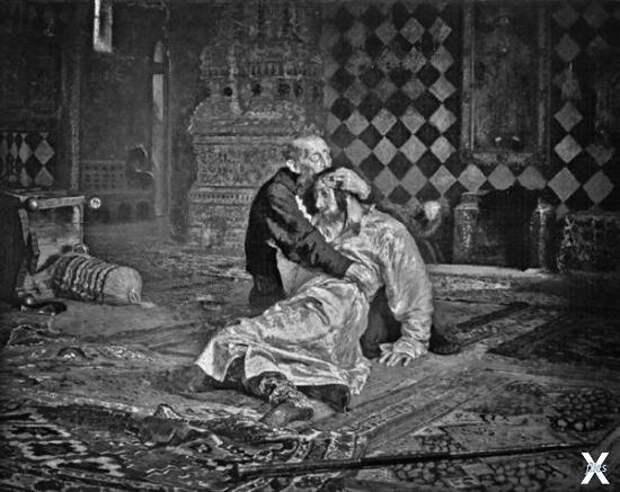 Иван Грозный убивает своего сына. Кар...