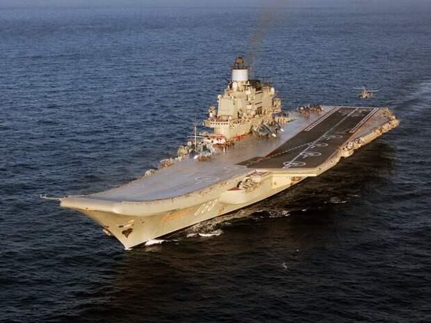 В ВПК рассказали о проекте нового авианосца РФ