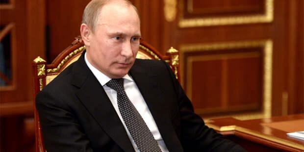 Путин поздравил Лукашенко с Днем единения народов России и Беларуси