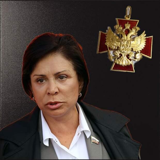 Мое мнение о награждении Ирины Родниной орденом за заслуги перед Отечеством.