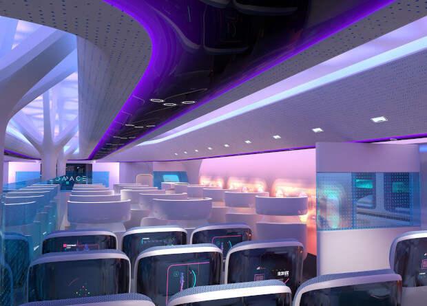 Airbus представил модель пассажирского «смешанного крыла»