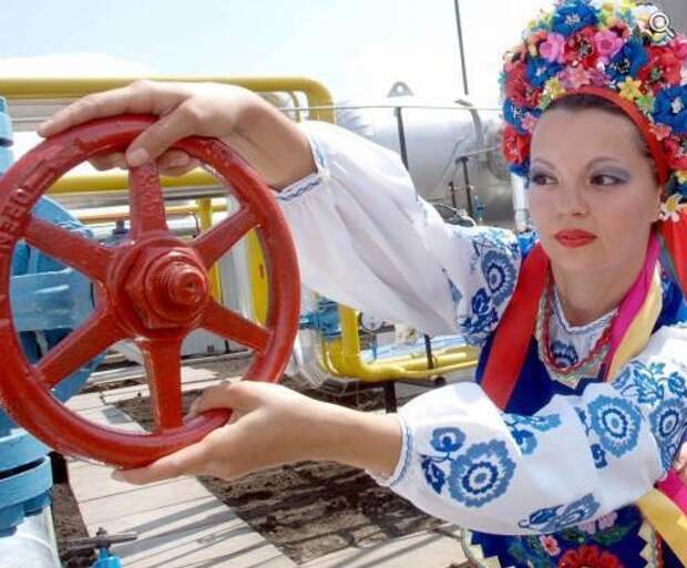 Украина газ