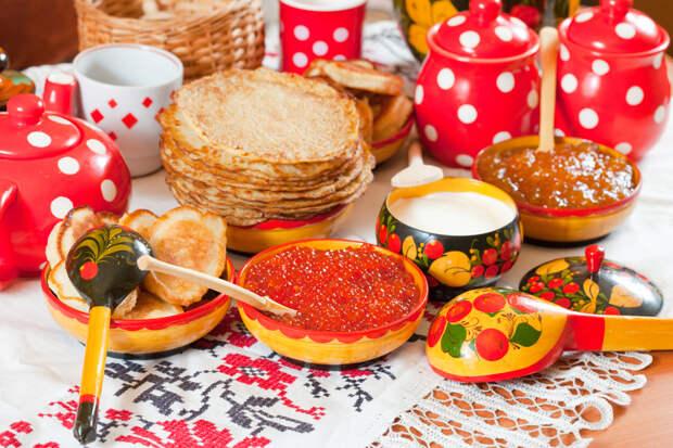 Блюда, которые традиционно едят на Масленицу
