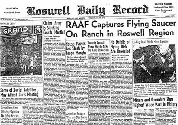 Инцидент в Розуэлле, возможно, является самой известной катастрофой НЛО всех времен.