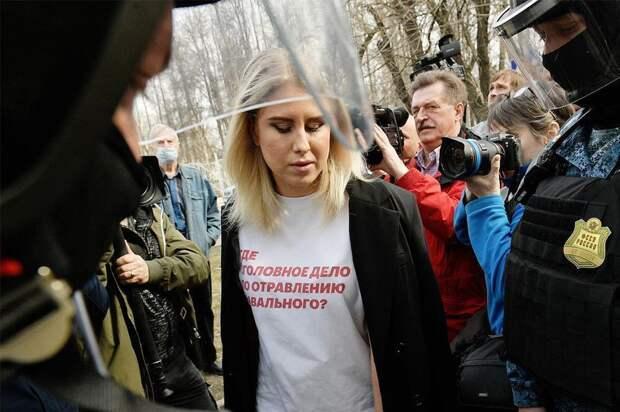 Адвокат сообщил о задержании Соболь перед акциями за Навального