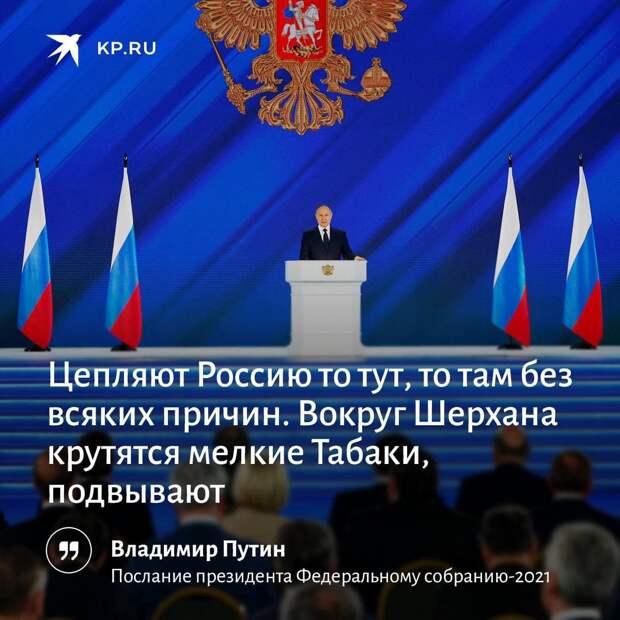 Детальный обзор послания президента РФ Федеральному собранию 21 апреля 2021 года