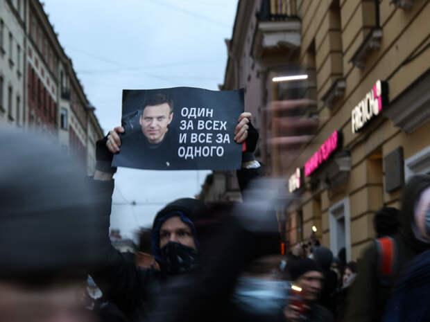 На месте граффити с Навальным в Петербурге появилась надпись «Всех не закрасите!»