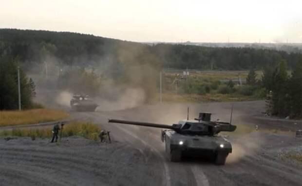 Сообщается об испытаниях танка Т-14 «Армата» в Сирийской Арабской Республике