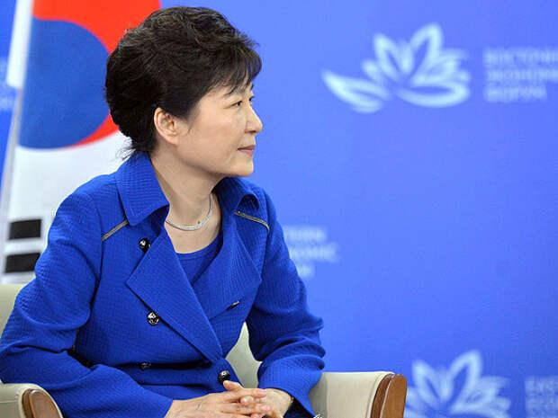 Президент Республики Корея Пак Кын Хе© Фото с сайта kremlin.ru