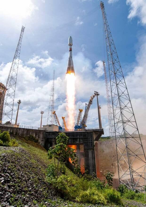 Российские космические запуски в 2020 году