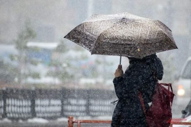 В Кузбассе из-за снегопада нарушено движение транспорта