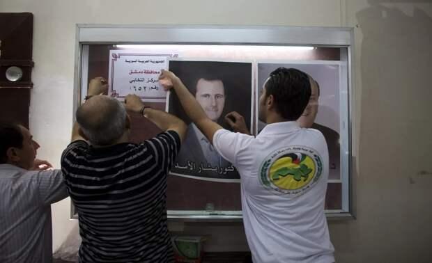 Выборы президента Сирии на фоне палестино-израильского конфликта
