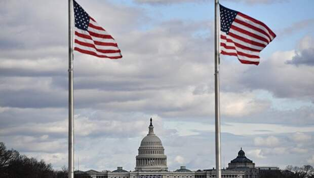 Вид на Капитолий в в Вашингтоне. Архивное фото