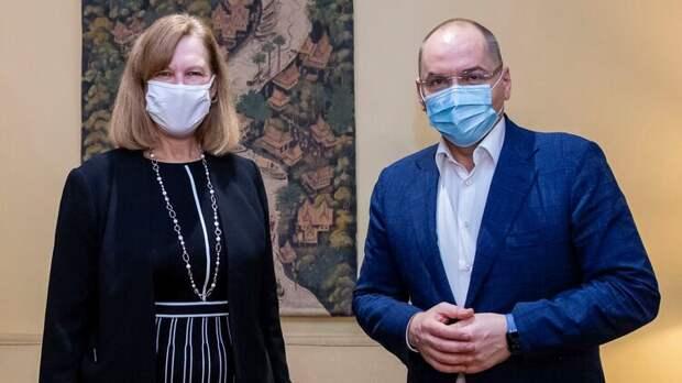 Обойдутся портретом Супрун. Посольство США в Киеве заявило, что Украина не будет покупать российскую вакцину от Covid-19
