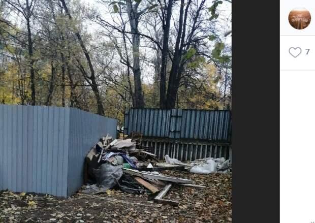 Проблемы с вывозом мусора добрались до детских садов в Лефортове