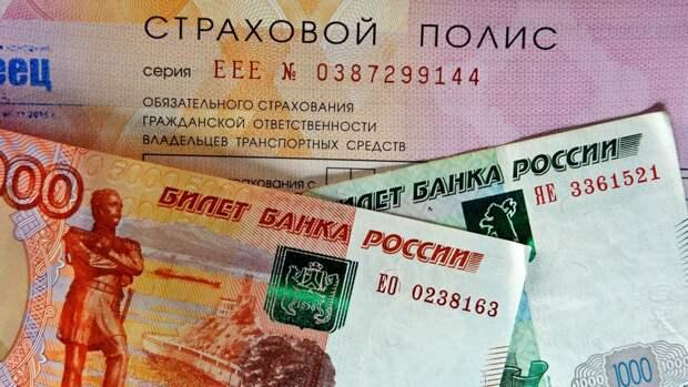 Страховой полис ОСАГО деньги рубли