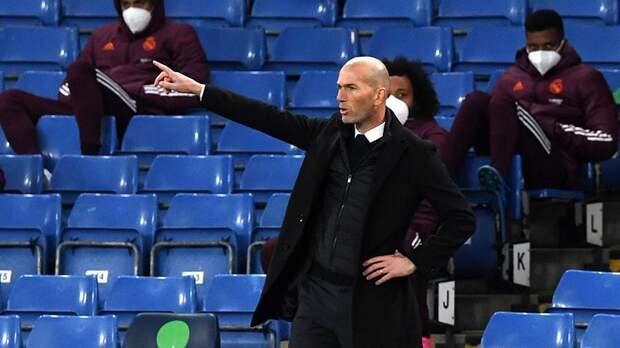 Зидан покинет пост главного тренера «Реала» в конце сезона