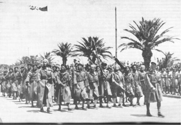 Французская военная экзотика. Марокканские гумьеры