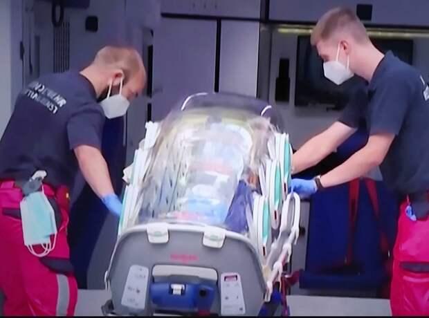 Генпрокуратура не нашла признаков преступления в связи с госпитализацией Навального