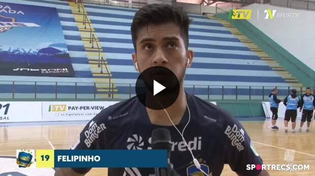 Felipinho fala sobre revés difícil de virada do Pato para o Marechal - LNF 2021 (15/05/2021)