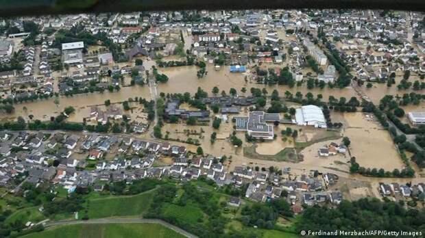 Наводнение в Германии: как немцы справляются с катастрофой века