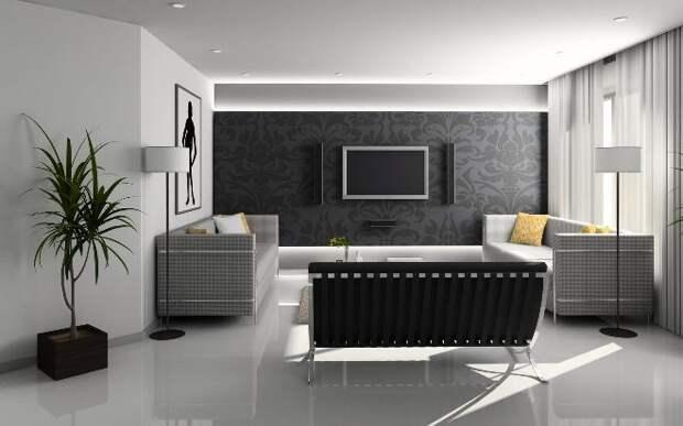 Черные обои: оформляем квартиру нестандартно (38 фото)