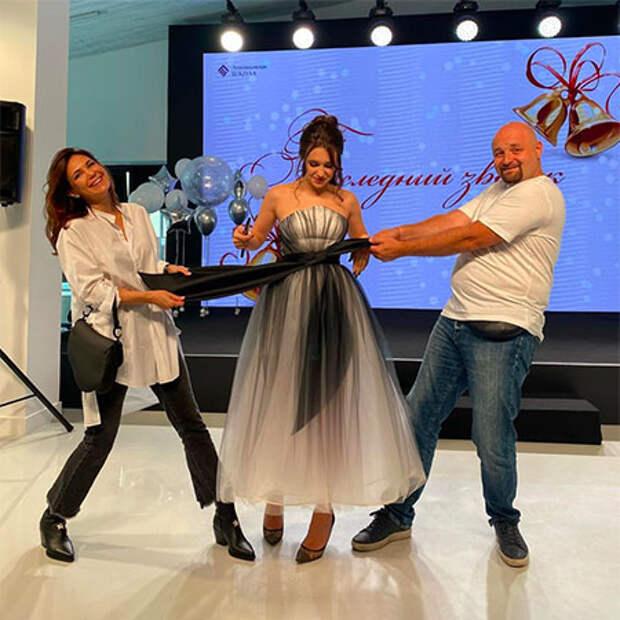 Екатерина Климова воссоединилась с бывшим мужем на выпускном дочери