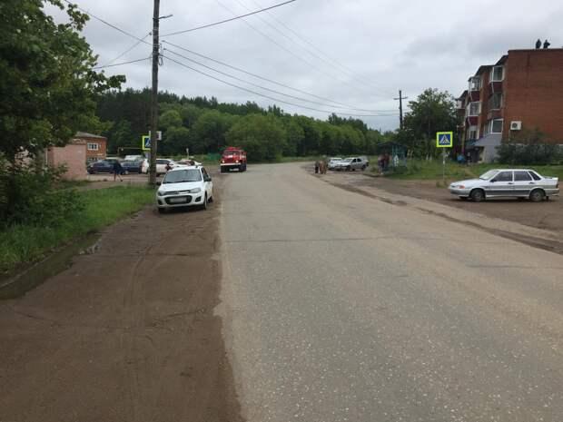 Школьницу сбили на пешеходном переходе в Сарапуле