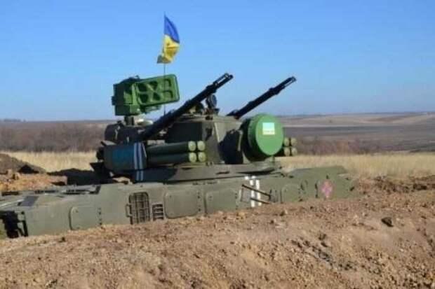 ВСУ попытались сбить российский военный вертолёт Ми-8