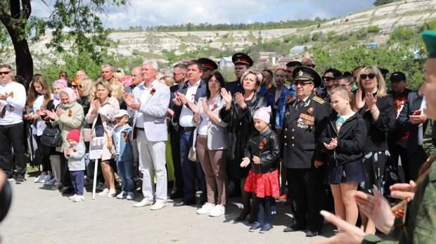 В Бахчисарае состоялся митинг, посвященный 76-годовщине Победы в Великой Отечественной войне