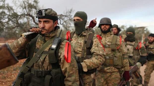 Анкара перебрасывает сирийских наемников в Донбасс