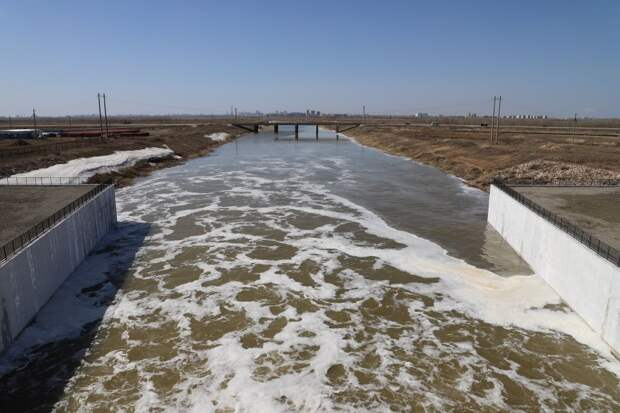 Ледоход начался в трех областях Казахстана