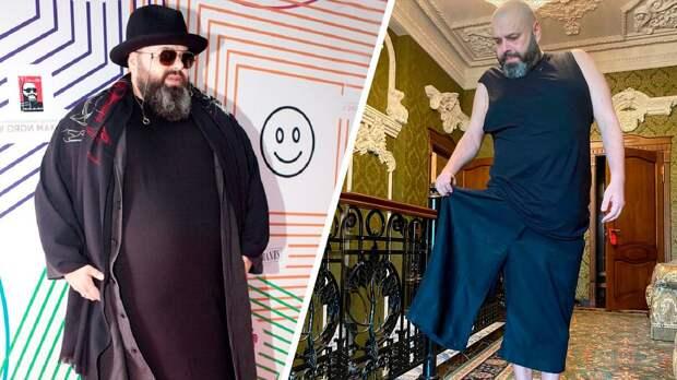 Продюсер Максим Фадеев похудел на 100 кг