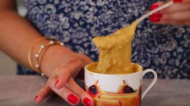 Как наколдовать аппетитный десерт буквально за 1 минуту из того, что под рукой