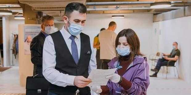 Мобильные пункты вакцинации откроют на строительных объектах в Москве. Фото: Комитет общественных связей и молодежной политики города Москвы
