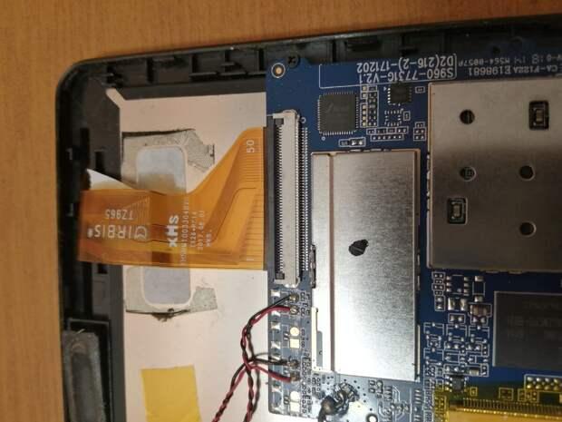 Простейший способ замены разбитого тачскрина на планшете IRBIS TZ 965