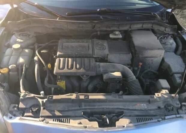Показываю, что стало с двигателем, масло в котором не меняли 70 000 км