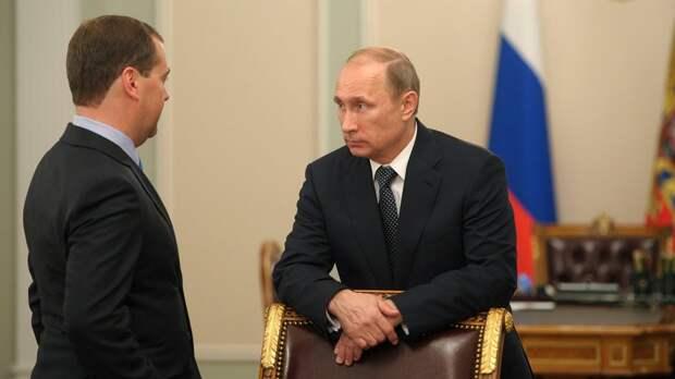 Путин поручил Медведеву изучить уровень налоговой нагрузки на россиян