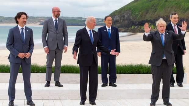 Стали известны подробности совместного заявления руководителей стран G7