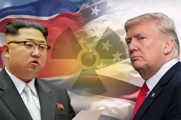 Северная Корея прикрывает Трампа в его войне с «глубинным государством»