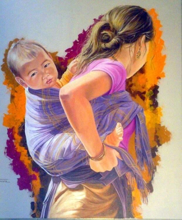 Фигуративная живопись. Francesca Escobar