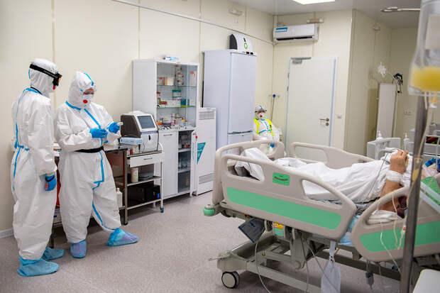 Свыше 20,1 тысячи новых случаев COVID-19 выявили в России за сутки