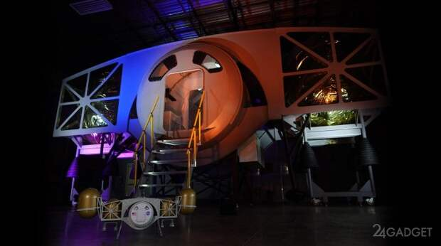 Компания Dynetics показала прототип модуля для посадки на Луну