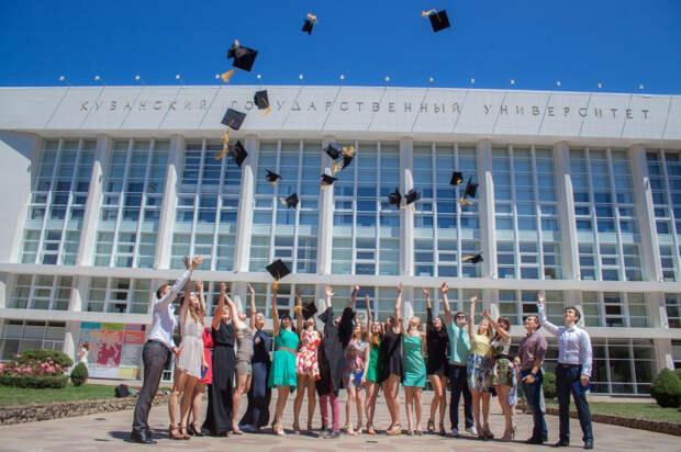 Кубанский государственный университет попал в десятку лучших вузов России