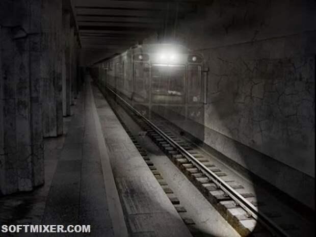 Призрачные обитатели лондонского метро