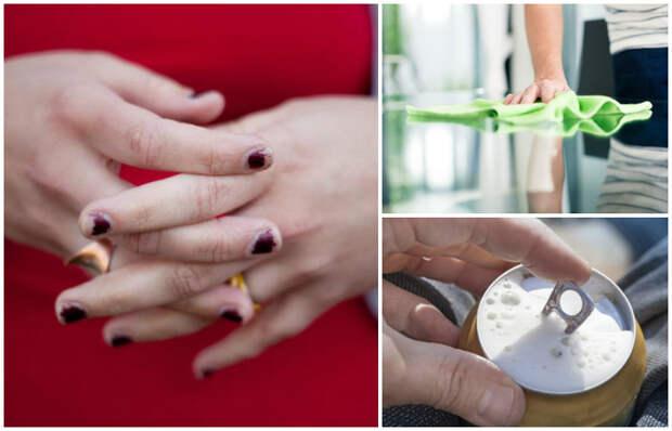 7 вредных привычек, которые ежедневно портят ваши ногти: А вы и не знали