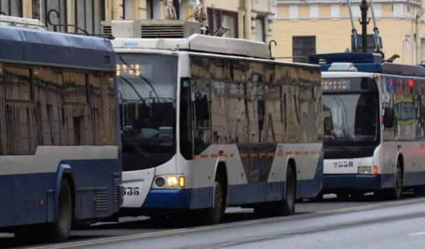 ВРостове назвали причину временной отмены троллейбусного маршрута №14